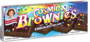 Little Debbie® Cosmic Brownies With Chocolate Chip Candy
