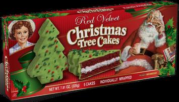 Little Debbie® Red Velvet Christmas Tree Cakes