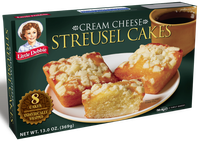Little Debbie® Cream Cheese Streusel Cakes