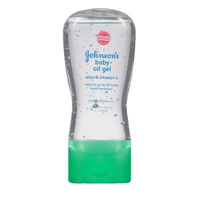 Johnson's® Baby Gel Oil with Aloe & Vitamin E