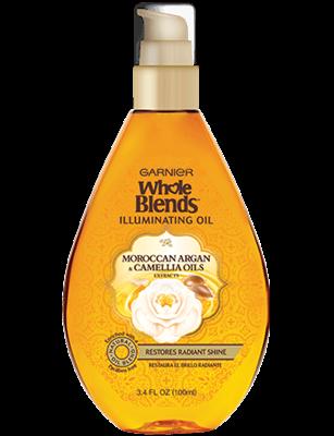 Garnier Whole Blends™ Moroccan Argan & Camellia Oils Extracts Illuminating Oil