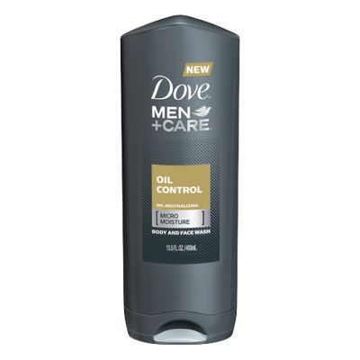 Dove Men+Care Oil Control Body And Face Wash