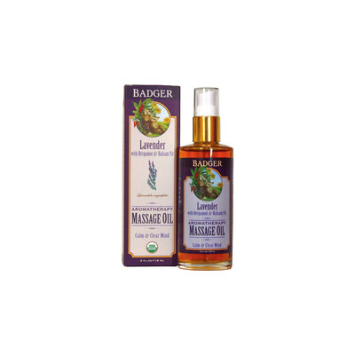 BADGER® Aromatherapy Massage Oil - Lavender