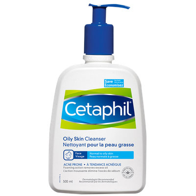 Cetaphil Oily Skin Cleanser Combination or Acne Prone Skin