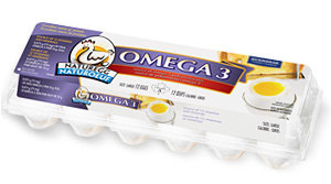 Burnbrae Farms Naturegg Omega 3 Eggs