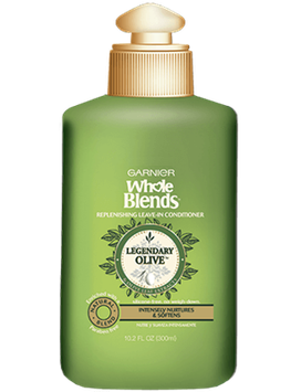 Garnier Whole Blends™ Replenishing Leave-in Conditioner with Virgin Pressed Olive Oil & Olive Leaf Extracts