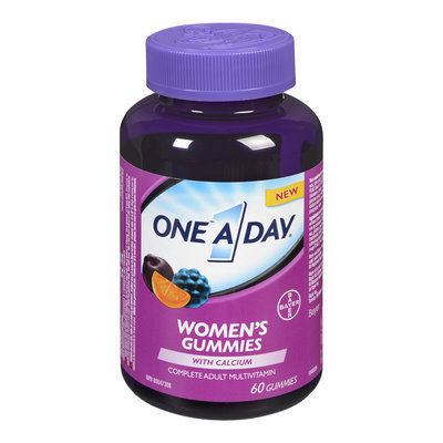 One A Day Women's Complete Adult Multivitamin Gummies