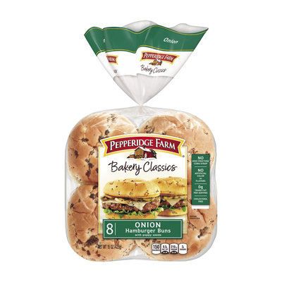 Pepperidge Farm® Bakery Classics Onion Hamburger Buns