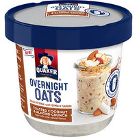 Quaker® Overnight Oats Toasted Coconut & Almond Crunch