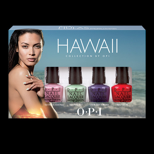 OPI Hawaii Little Hulas Mini Four Piece Collection