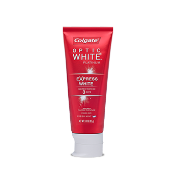 Colgate® OPTIC WHITE® PLATINUM™ EXPRESS WHITE Toothpaste Freshmint