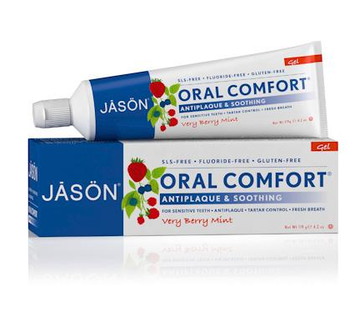 JĀSÖN Oral Comfort® Soothing Toothpaste Fluoride-free Gel