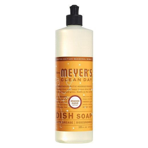 Mrs. Meyer's Clean Day Orange Clove Dish Soap