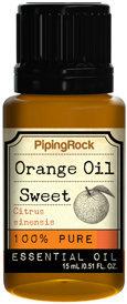Piping Rock Orange Sweet Essential Oil 1/2 oz 100% Pure Oil Therapeutic Grade