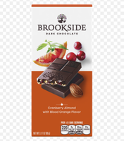 BROOKSIDE Dark Chocolate Bar Cranberry Almond with Blood Orange Flavor
