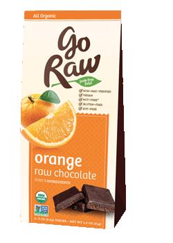 Go Raw Super Orange raw choclates