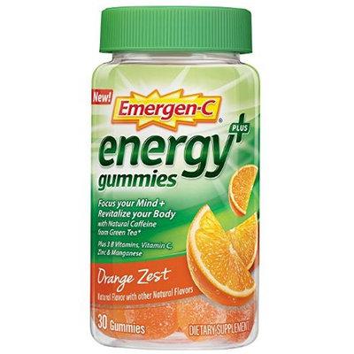 Emergen-C Energy+ Gummies Orange Zest