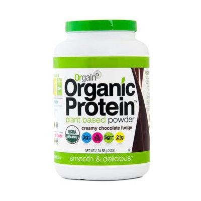 Organic Protein Creamy Chocolate Fudge Flavor, 2.74 Lb