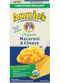 Annie's® Homegrown Organic Classic Macaroni & Cheese