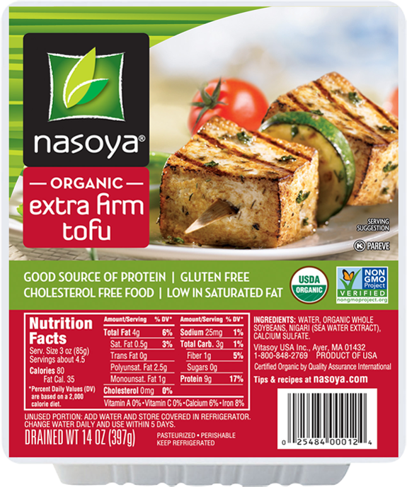 Nasoya Organic Extra Firm Tofu