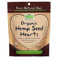 NOW Foods Real Food Organic Hemp Seed Hearts 8 oz