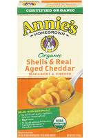 Annie's Homegrown® Organic Shells & Real Aged Cheddar Macaroni & Cheese