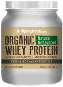 Piping Rock Organic Whey Protein Powder Unflavored 1 Lb