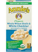 Annie's®  Homegrown Whole Wheat Shells & White Cheddar