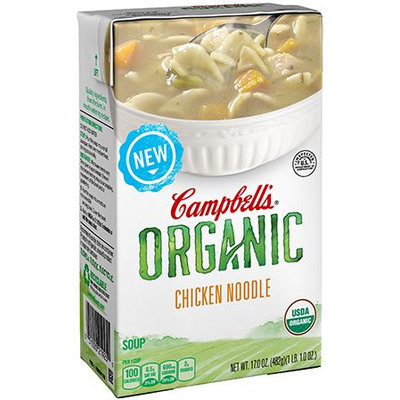 Campbell's® Organic Chicken Noodle Soup