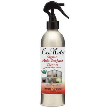 Eco Nuts - Organic Multi-Surface Cleaner Herbal Orange - 10 oz.