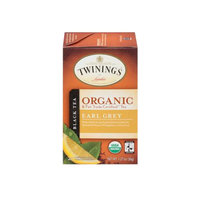 TWININGS® OF London Earl Grey Organic Tea Bags