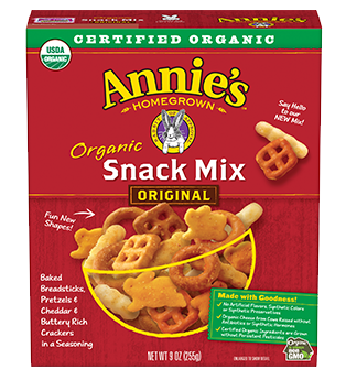 Annie's®  Homegrown Organic Snack Mix
