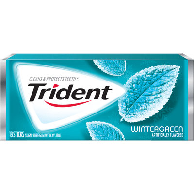 Trident Wintergreen Sugar Free Gum