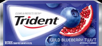Trident® Blueberry Twist® Gum