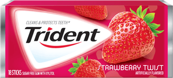 Trident Strawberry Twist Sugar Free Gum