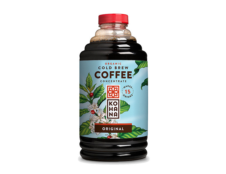 Kohana Coffee Organic Cold Brew Coffee Concentrate