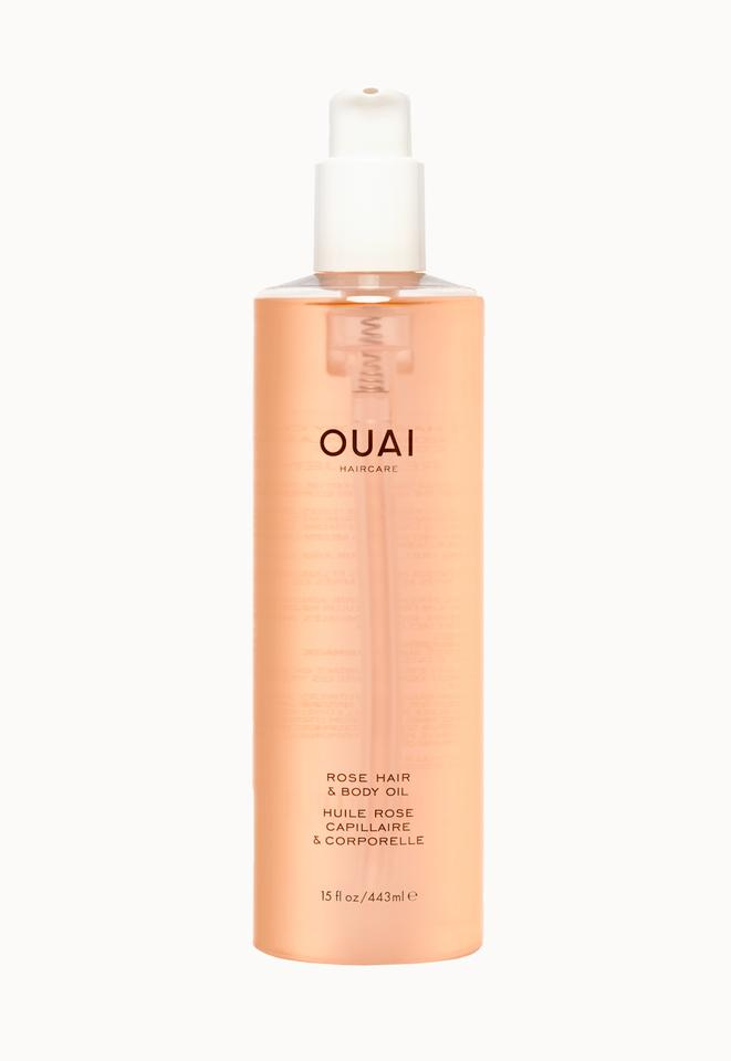 OUAI Rose Hair & Body Oil Magnum