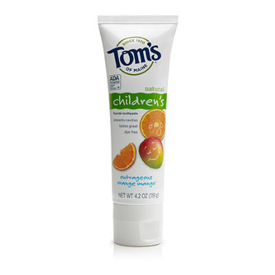 Tom's OF MAINE Outrageous Orange Mango™ Children's Toothpaste