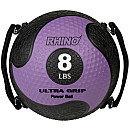 Champion Sports 8lb Textured Medicine Ball - Purple