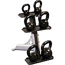 Body Solid Tools Body Solid 3-Pair Kettlebell Rack