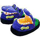Trademark Games Silly Slippeez - Dizzy Dinosaur - Glow in the Dark - XS
