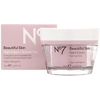 Boots No7  Beautiful Skin Night Cream Normal/Dry