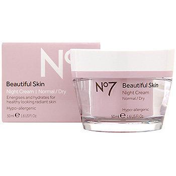 Slide: Boots No7  Beautiful Skin Night Cream Normal/Dry