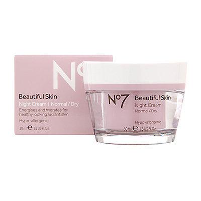 Boots No7  Beautiful Skin Night Cream Normal/Dry