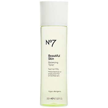 Boots No7 Beautiful Skin Balancing Toner Normal/Oily