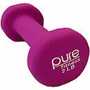 Pure Fitness 2lb Dumbbell