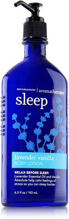 Bath & Body Works Aromatherapy Lavender Vanilla Sleep Body Lotion