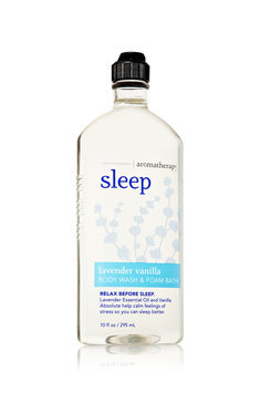 Bath & Body Works And Aromatherapy Sleep Body Wash And Foam Lavender Vanilla