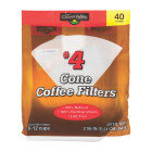 Clover Valley #4 Cone Coffee Filters, 40ct