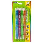 Dollar General Inc Soft Grip Mechanical Pencils -0.7mm, 4 pack